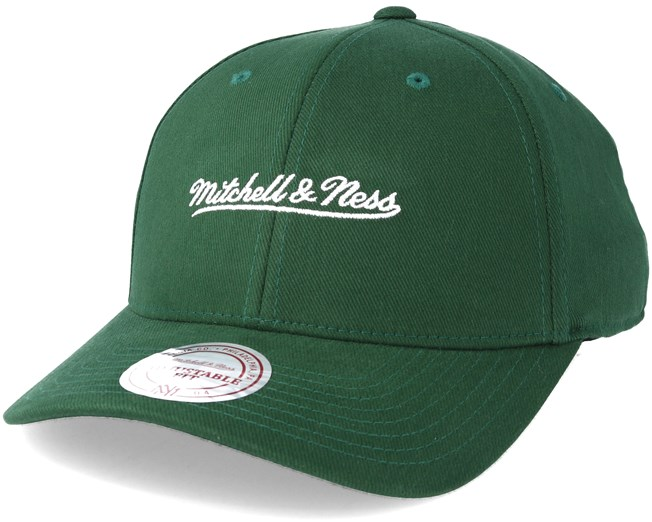 Flexfit 110 Low Pro Green Adjustable - Mitchell   Ness - Start Cappellino -  Hatstore a1d9ed3a1624