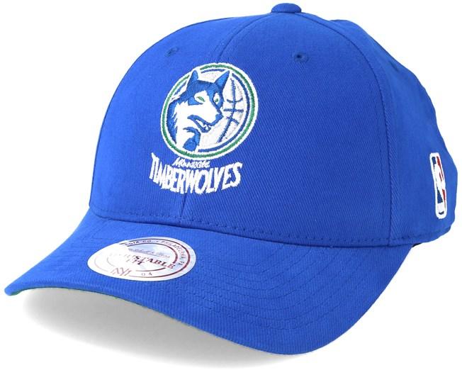 super popular ccebf 2b461 Minnesota Timberwolves Flexfit 110 Low Pro Adjustable - Mitchell   Ness -  casquette   Hatstore.fr