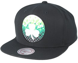 Boston Celtics Easy Three Digital XL Black Snapback - Mitchell & Ness