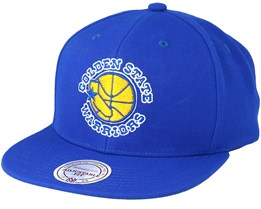 Golden State Warriors Wool Solid Royal Snapback - Mitchell   Ness 97d2038ac248