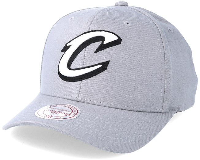 huge discount 68c87 920c7 Cleveland Cavaliers Gull Grey 110 Adjustable - Mitchell   Ness caps ...