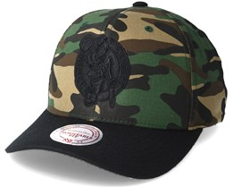 Boston Celtics 110 Flexfit Camo Adjustable - Mitchell & Ness