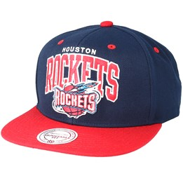 3ff643058 Only 1 left! Mitchell   Ness Houston Rockets Team Arch Navy Snapback -  Mitchell   Ness £29.99