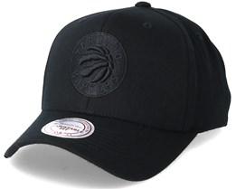 Toronto Raptors Flexfit 110 Black Adjustable - Mitchell & Ness