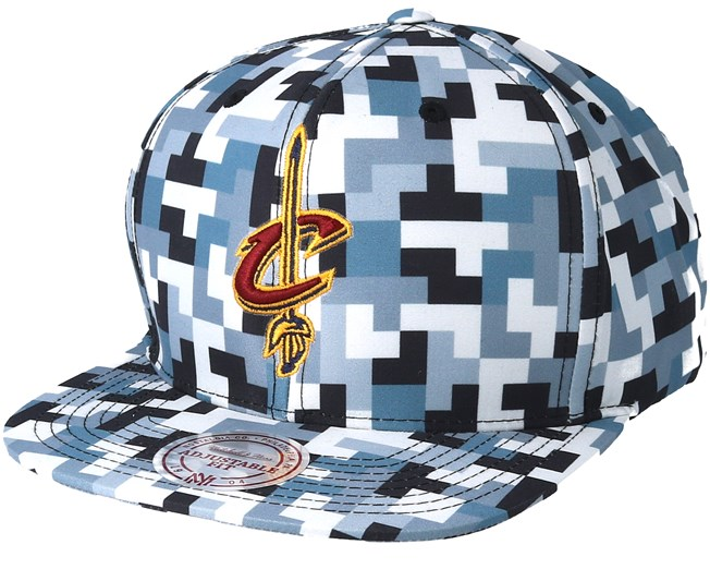 fe5fed38516488 Cleveland Cavaliers Sublimated Micro Peach Camo Snapback - Mitchell & Ness  cap - Hatstore.co.in