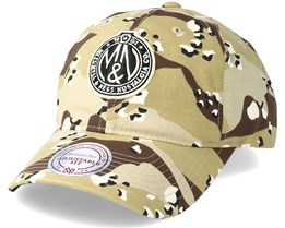 Dad Hat Desert Camo Adjustable - Mitchell & Ness