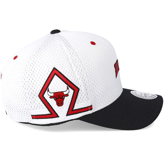 cheap for discount 743b8 09914 Chicago Bulls Jersey Hook   Loop White Adjustable - Mitchell   Ness - Start  Boné - Hatstore