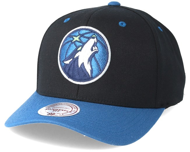 Minnesota Timberwolves Team Logo Low Profile Black Adjustable - Mitchell    Ness - Start Gorra - Hatstore 6f8742f209d