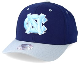 North Carolina College Football Team Logo Low Profile Navy Adjustable - Mitchell & Ness