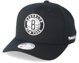 Brooklyn Nets Eazy Black 110 Adjustable - Mitchell & Ness