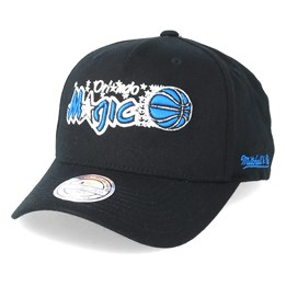 buy online 49164 c1953 Mitchell   Ness Orlando Magic Eazy Black 110 Adjustable - Mitchell   Ness   29.99
