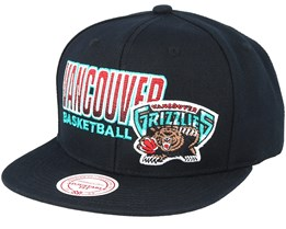 Vancouver Grizzlies Score Keeper Black Snapback - Mitchell & Ness