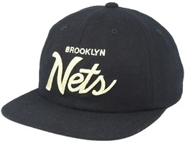 Brooklyn Nets 20´s All American Black Unconstructed - Mitchell & Ness