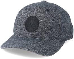 Boston Celtics Brushed Jersey Grey/Black Adjustable - Mitchell & Ness