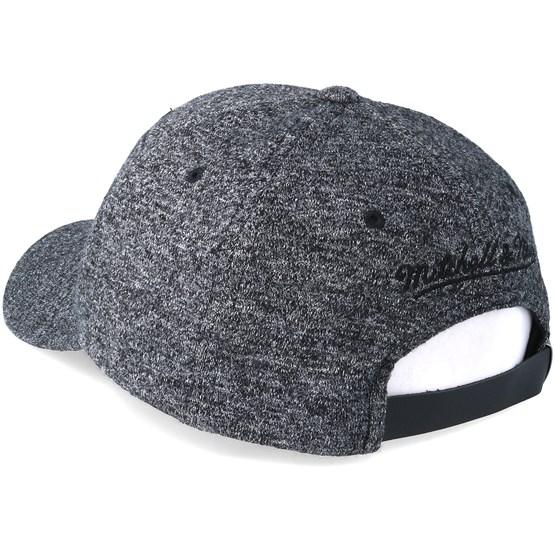 53e5b95be2e7c Toronto Raptors Brushed Jersey Grey Adjustable - Mitchell & Ness