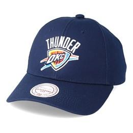official photos 10606 64dca Mitchell   Ness Oklahoma City Thunder Team Logo Low Profile Navy Adjustable  - Mitchell   Ness  24.99. New Era Oklahoma City Thunder The League ...