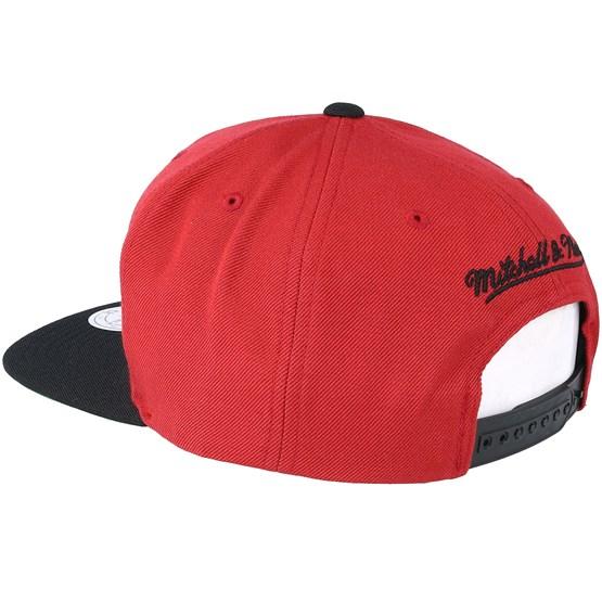 Miami Heat XL Logo 2 Tone Red Snapback - Mitchell   Ness - Start Gorra -  Hatstore e51e5f07859