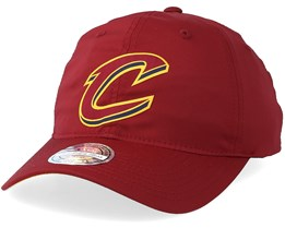 Cleveland Cavaliers Light & Dry Maroon Adjustable - Mitchell & Ness