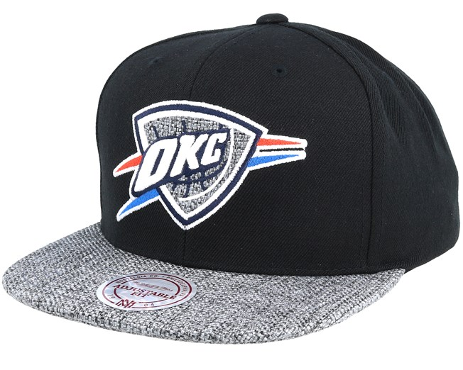 Oklahoma City Thunder Woven Tc Black Snapback - Mitchell   Ness - Start  Gorra - Hatstore 725d78be7b0