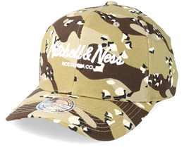 Own Brand Pinscript Hight Crown Desert Camo 110 Adjustable - Mitchell & Ness