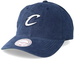 Cleveland Cavaliers Workmens Strapback Navy Adjustable - Mitchell & Ness