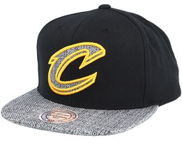 Cleveland Cavaliers Woven Tc Black Snapback - Mitchell & Ness