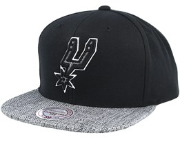San Antonio Spurs Woven Tc Black Snapback - Mitchell & Ness