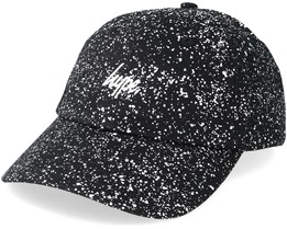 Spreckle Dad Cap Black/White Adjustable - Hype