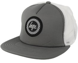 Crest Charcoal/White Trucker - Hype
