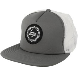 60487d6c68b852 Hype Crest Charcoal/White Trucker - Hype AED 129.00