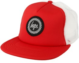 Crest Red/White Trucker - Hype