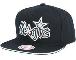 Orlando Magic Dark Hologram II Hwc Black Snapback - Mitchell & Ness