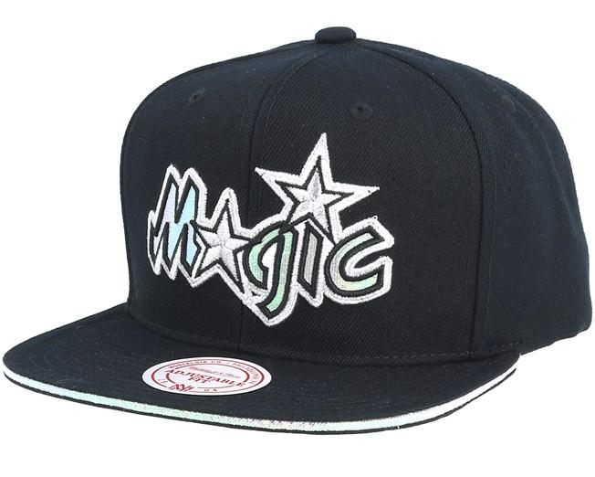 the best attitude 852c7 72903 Orlando Magic Dark Hologram II Hwc Black Snapback - Mitchell   Ness caps -  Hatstoreworld.com