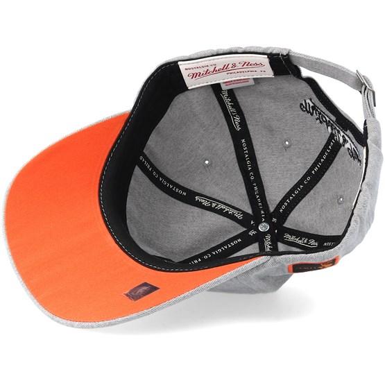 hot sale online 30e6a f5f12 New York Knicks Haze Grey Adjustable - Mitchell   Ness caps -  Hatstoreaustralia.com