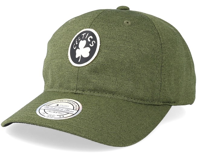 f2613813c1cbb Boston Celtics Jock Olive 110 Adjustable - Mitchell   Ness caps -  Hatstoreaustralia.com