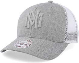 Own Brand Tints Strapback Dark Grey Trucker - Mitchell & Ness