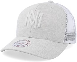 Own Brand Tints Strapback Dark Light Grey Trucker - Mitchell & Ness