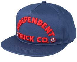 Itc Bold Navy Snapback - Independent