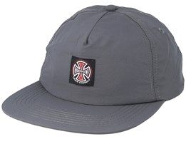 Truck Co. Label Charcoal Strapback - Independent