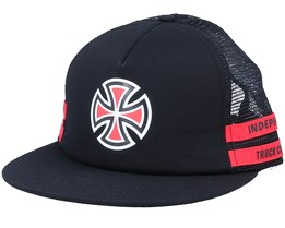 Shear Black/Red Trucker - Independent