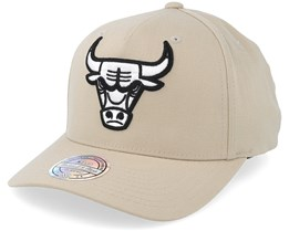 Chicago Bulls Outline Logo Sand 110 Adjustable - Mitchell & Ness