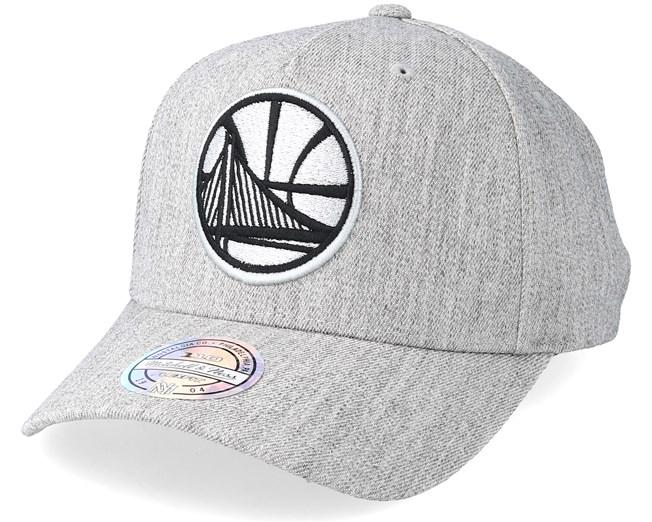 76075d01f Golden State Warriors Outline Logo Melange Grey 110 Adjustable ...