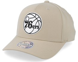 Philadelphia 76ers Outline Logo Sand 110 Adjustable - Mitchell & Ness