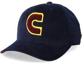 3b821dc8855 Cleveland Cavaliers Campus Navy Burgundy Yellow Adjustable - Mitchell   Ness