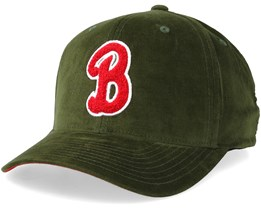 Milwaukee Bucks Campus Green/Red Adjustable - Mitchell & Ness