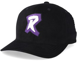 Toronto Raptors Campus Black/Purple/White Adjustable - Mitchell & Ness
