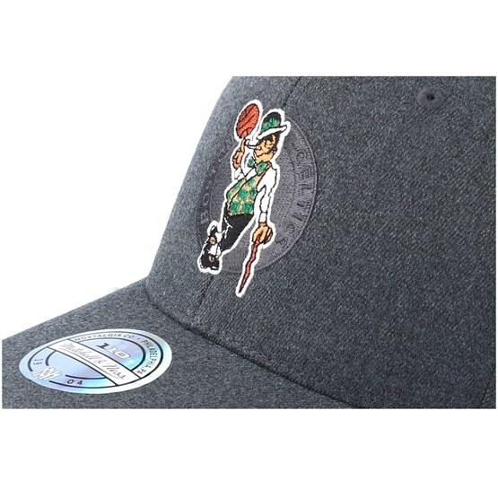 Boston Celtics Decon Grey Adjustable - Mitchell   Ness caps -  Hatstoreworld.com 4dbee19076a