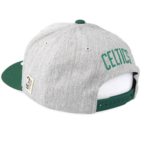 bde7cda01b4401 Boston Celtics Hometown Heather Grey/Green 110 Adjustable - Mitchell & Ness  caps   Hatstore.co.uk