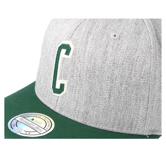 competitive price 1ea3c e24b1 Boston Celtics Hometown Heather Grey Green 110 Adjustable - Mitchell   Ness  caps   Hatstore.co.uk