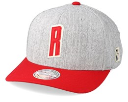 Houston Rockets Hometown Heather Grey/Red 110 Adjustable - Mitchell & Ness
